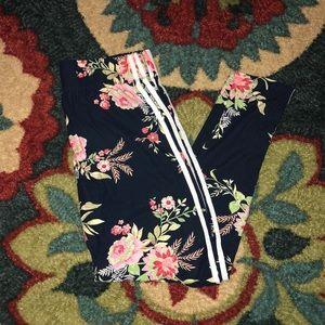 Floral Leggings 2X